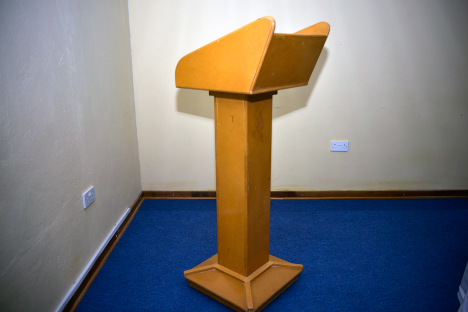 Lecture Hall Pulpit